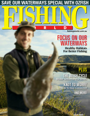 Waterways in focus: Fishing World raises awareness with July edition cover image