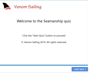 Free maritime quiz - safety at sea