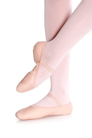 So Danca: SD55 Blossom: Child Full Sole Leather Ballet Slipper