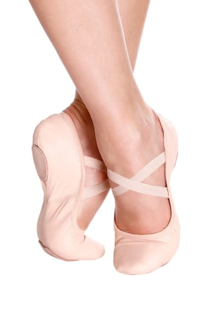 So Danca: SD60S Betty: Child Split Sole Leather Ballet Slipper