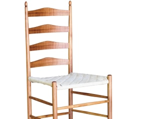 Blackwood Shaker ladderback chair