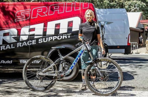 Kona's Shelly Flood transitions to Enduro