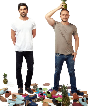 Meet Jordan and Josh: the boys who want to end fast footwear