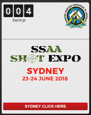 Sporting Shooter at Sydney SHOT Expo THIS WEEKEND