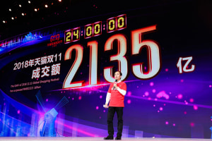 China's Singles Day sales records broken