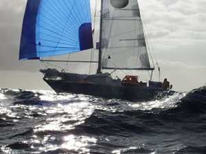 Slow moving drama continues at Golden Globe Race