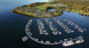 New marina opens on Australia's Lake Macquarie