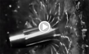 1 Million fps Slow Motion Video of Bullet Impacts