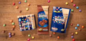 Smarties brand switches to recyclable paper packs