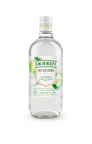 Diageo infuses botanicals for low-ABV Smirnoff