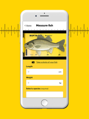 Record every catch with AccuLog