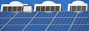 Solar powered air conditioning project