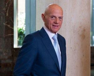 What does Solomon Lew think of Myer CEO's shock exit?