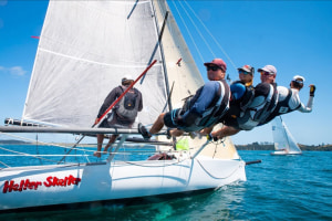 Light winds and high spirits mark first day of Bay of Islands Sailing Week