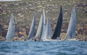 Nor-easters for Pittwater to Paradise race start