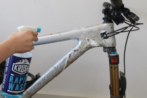 How-To: Water-Wise Bike Wash