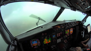 FRIDAY FLYING VIDEO: Storm Landing