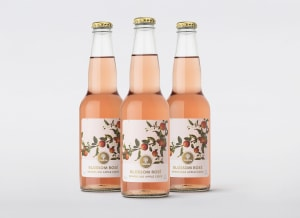 New Strongbow cider blossoms with rosy design