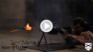Melting a suppressor - 700 rounds in one continuous burst