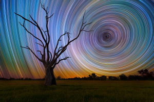 Photo tip of the week: How to take startrail photographs