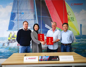 Disabled sailing gets boost with S\V14 and FAREAST YACHTS collaboration