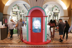 Naughty or Nice? This kiosk will be the judge