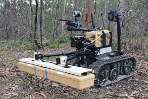SME proves radar equipped UGV concept for mine and IED detection