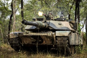 Abrams tanks feature next-gen battle management on Hamel