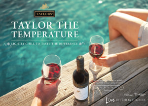 Taylors chills temperature for summer red