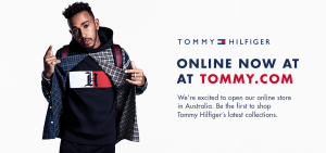 Tommy Hilfiger goes mobile-first in Australia