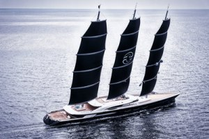 Black Pearl — largest DynaRig sailing yacht in the world