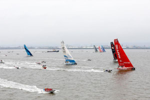 Volvo Ocean Race: Every point counts as teams prepare for Cardiff start