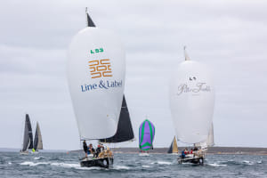 Lincoln Week Regatta kicks off with two races around the cans in Boston Bay