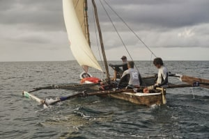 A mango tree hull, some bamboo and a bed sheet - are you up for the Kraken Cup?