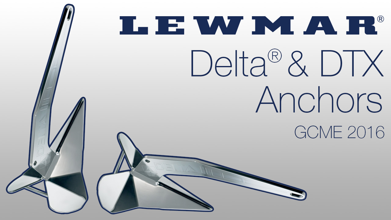BLA Trade Talk: Lewmar Delta and DTX anchors