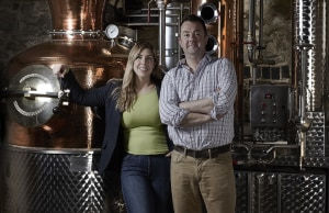 Think pink: Warner's Rhubarb Gin enters the country