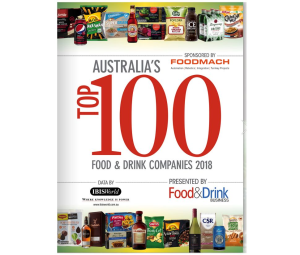 EXCLUSIVE: Australia's Top 100 Food & Drink Companies 2018