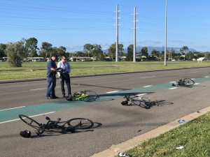 UPDATED: Five Riders Seriously Injured After Townsville Hit And Run