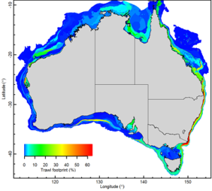 Assessing the trawling footprint of Australian fisheries