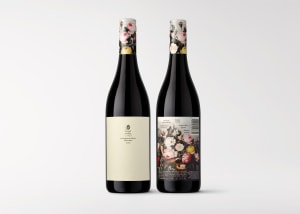 Gentle wave in wine and design