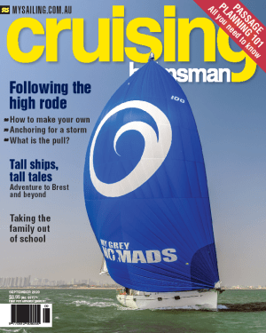 Drop anchor, it is time to read your September Cruising Helmsman