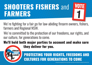 Shooters - Make Your Vote Count In NSW