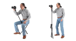 Velbon's new Chairpod is a tripod and chair in one