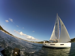 Teaser: yacht test coming in August issue Cruising Helmsman