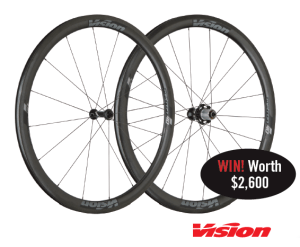 Win A Set Of 40mm Vision Wheels With Bicycling Australia!