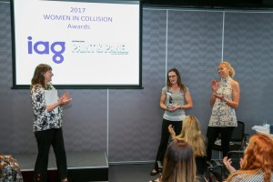 Nominations for Women in Collision - only one week to go