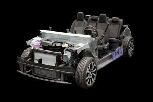 MEB chassis for VAG family electric models