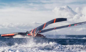 Luna Rossa AC75 dismasts while on sea trial off coast of Marina di Capitana