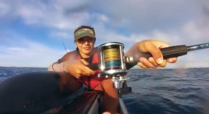 VIDEO: Wahoo from a kayak