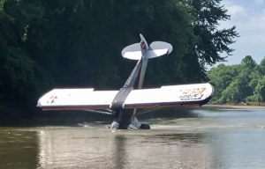 FRIDAY FLYING VIDEO: Analysis of a Water Crash